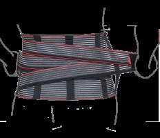Корсет поддерживающий с дополнительной фиксацией (со сменными ребрами жесткости)