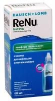 Раствор для линз ReNu MultiPlus (60 ml)