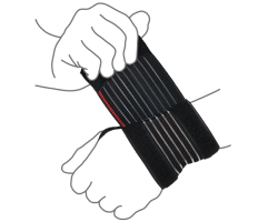 Бандаж на лучезапястный сустав (облегченный) (арт. R8101)
