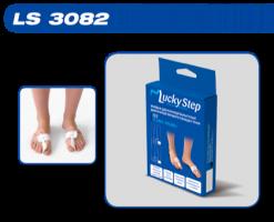 Бандаж для коррекции вальгусной деформации первого пальца стопы Lucky Step LS 3082