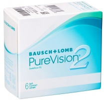 Контактные линзы Bausch and Lomb PureVision 2
