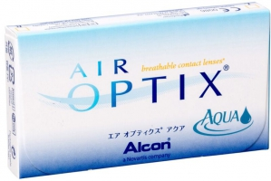 Контактные линзы Air Optix Aqua